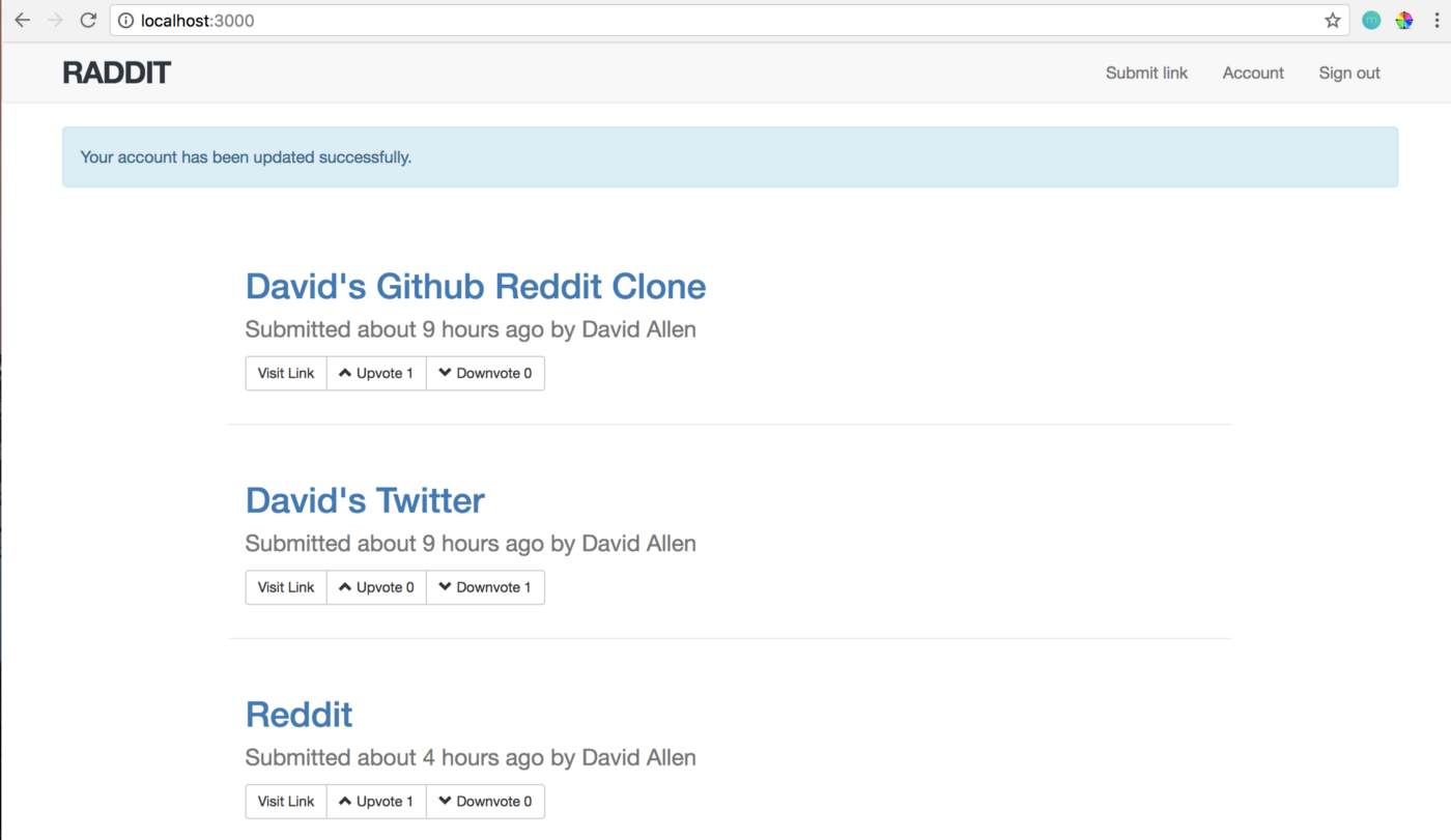 How to Build a Reddit Clone with Ruby on Rails - David Allen - Medium