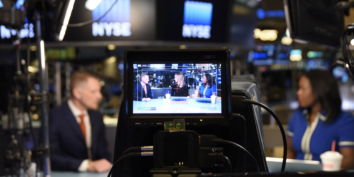 Introducing Cheddar — 24/7 tech & business news, now on Twitch