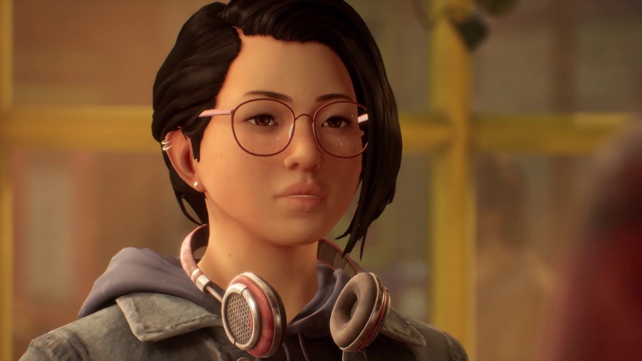 A close up of Life is Strange True Color's protagonist, Alex Cheng