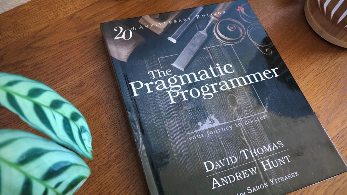 The Pragmatic Programmer—book for programmers who want to be professional