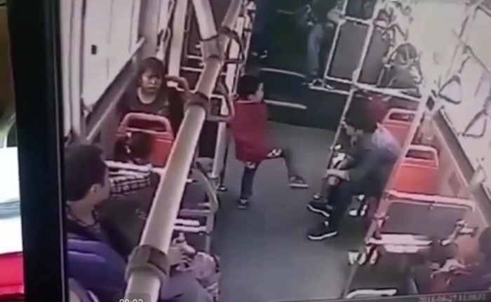 Fabulous Enraged Man Savagely Slams Bratty Kid To Floor In Sichuan Squirreltailoven Fun Painted Chair Ideas Images Squirreltailovenorg