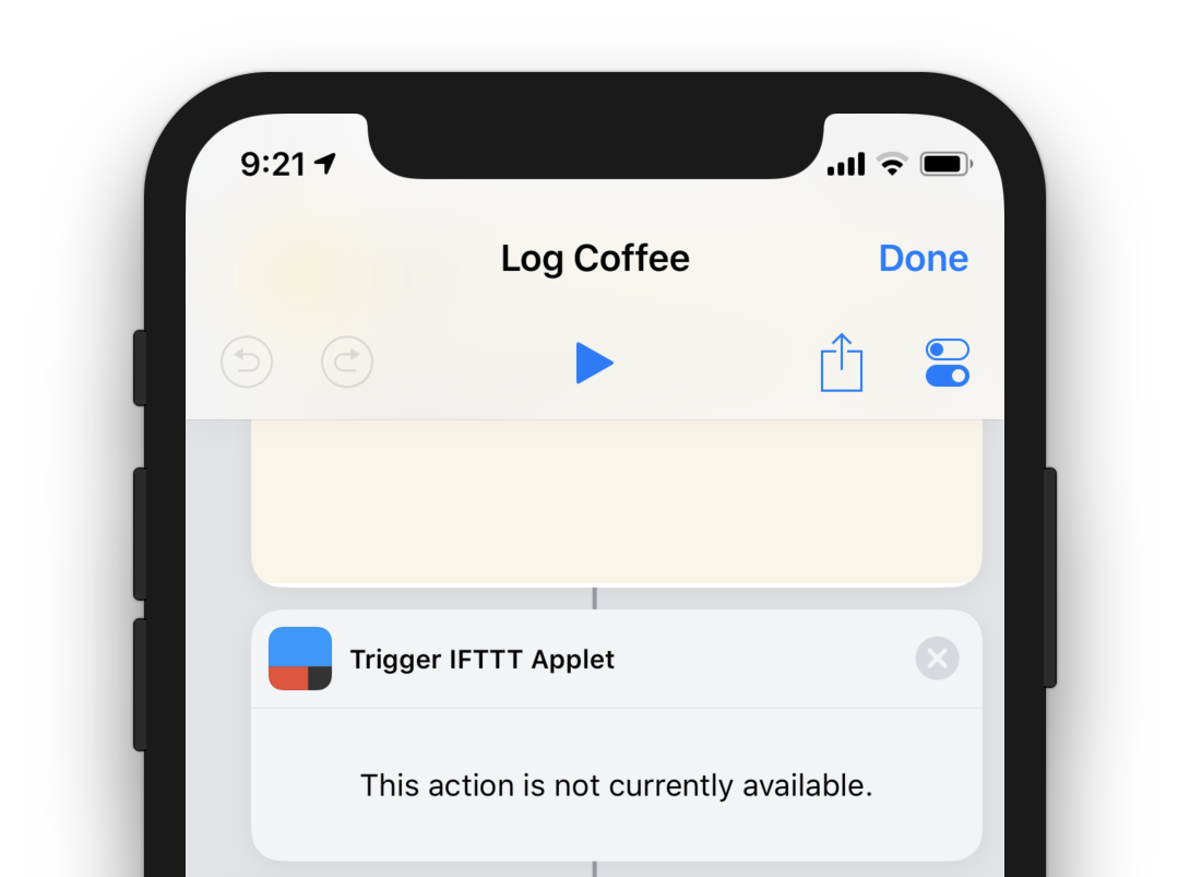 Making IFTTT work with Apple's new Shortcuts app - Stephen Panaro