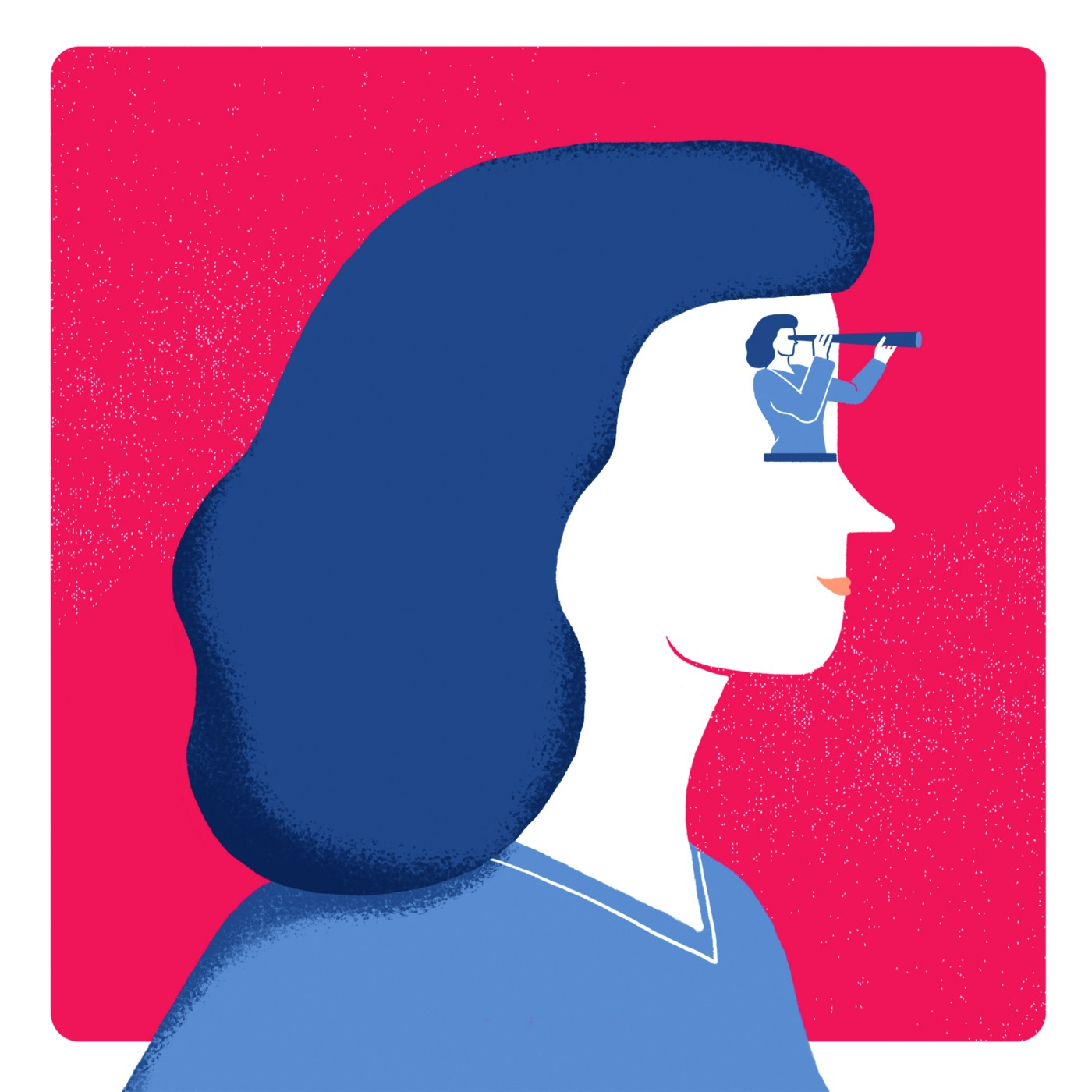Your Next Adventure Coaching—Art by @Bea Crespo for Julien Fortuit Agency