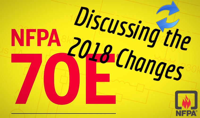 5 major changes in NFPA 70E