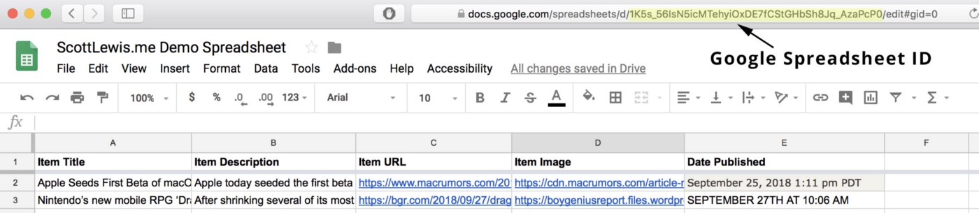 How to convert Google Sheets data to JSON … in just 3 steps