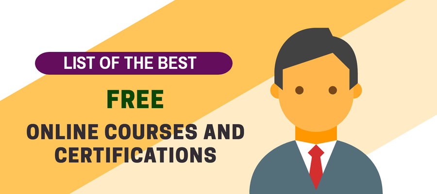 Free Professional Certification Courses Online with Certificate 2021