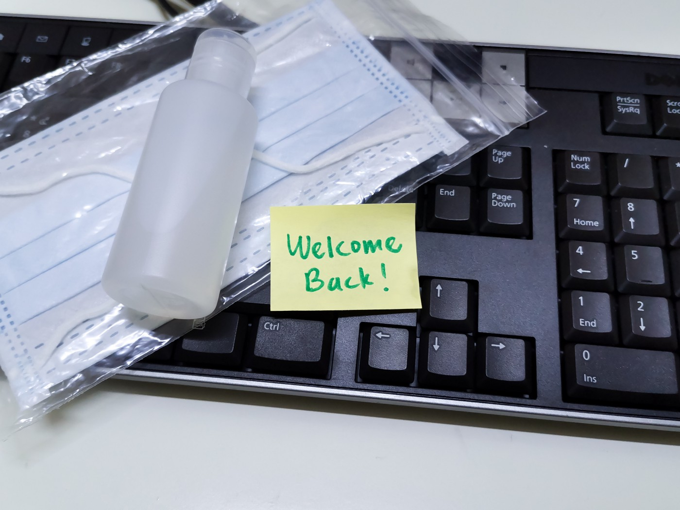 Masks, hand sanitizer, social distancing: welcome back to the office during COVID-19