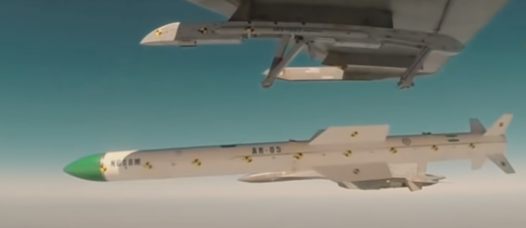 Know All About India's First Anti Radiation Missile Rudram-I