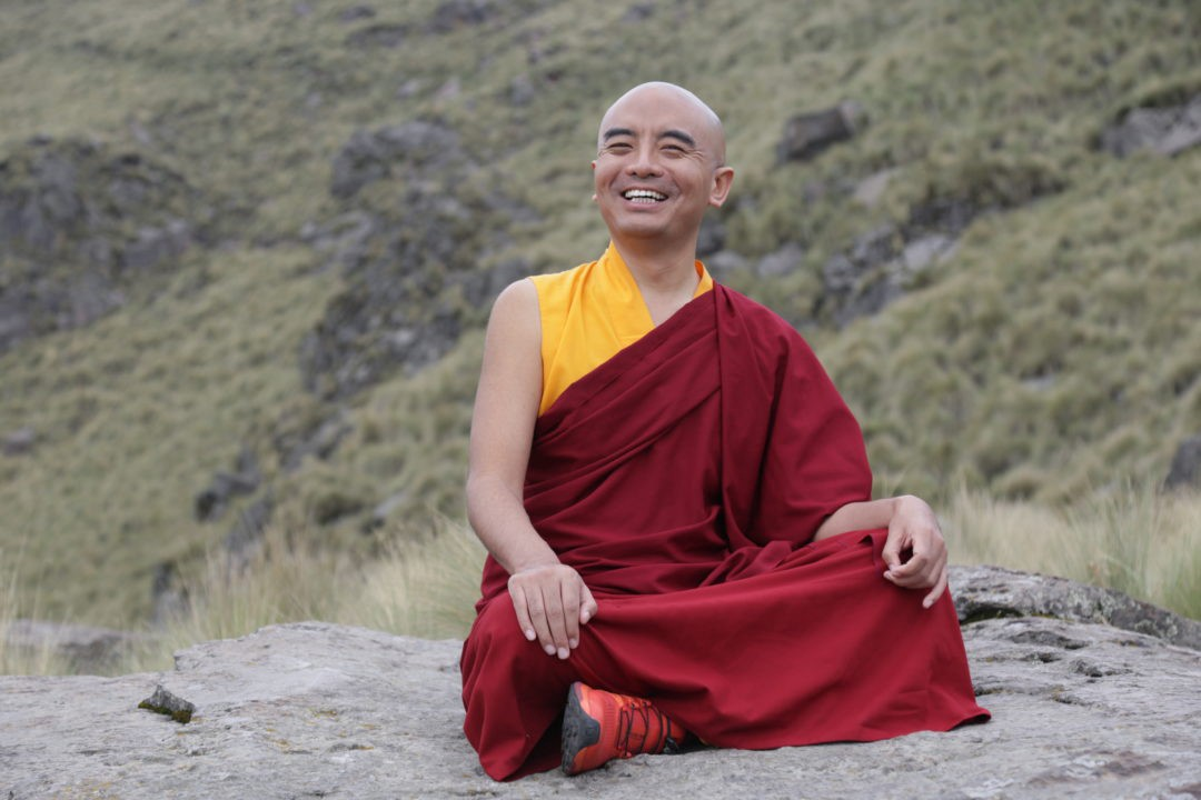 Mingyur Rinpoche, a Master of Dzogchen meditation, learned to deal with panic attacks by being with them, meditating on them.
