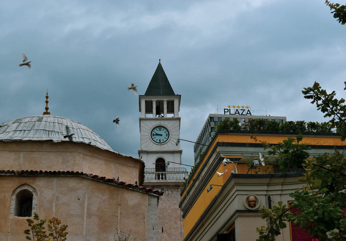 A photo of Albanian architectures