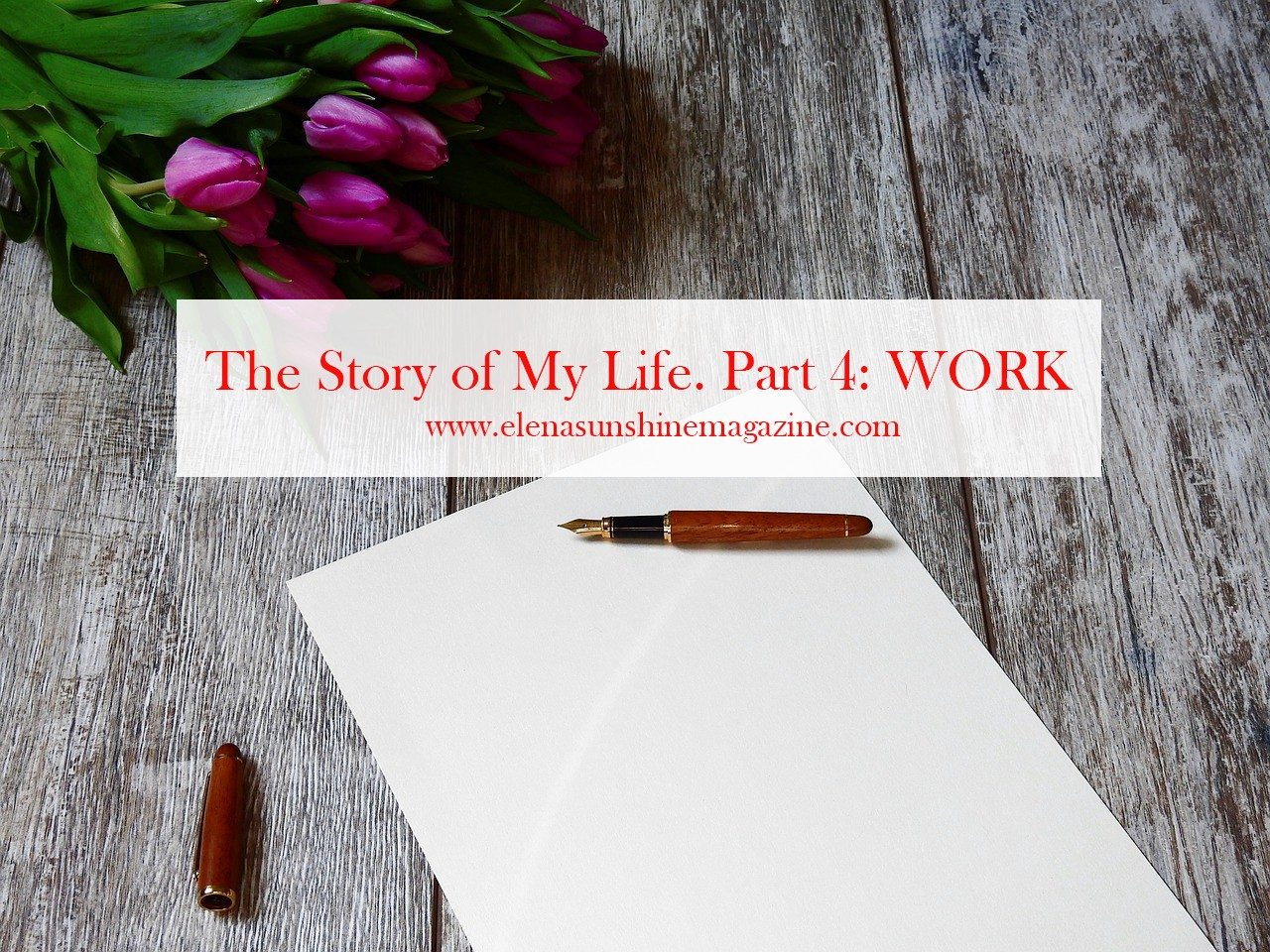 The Story of My Life. Part 4: WORK