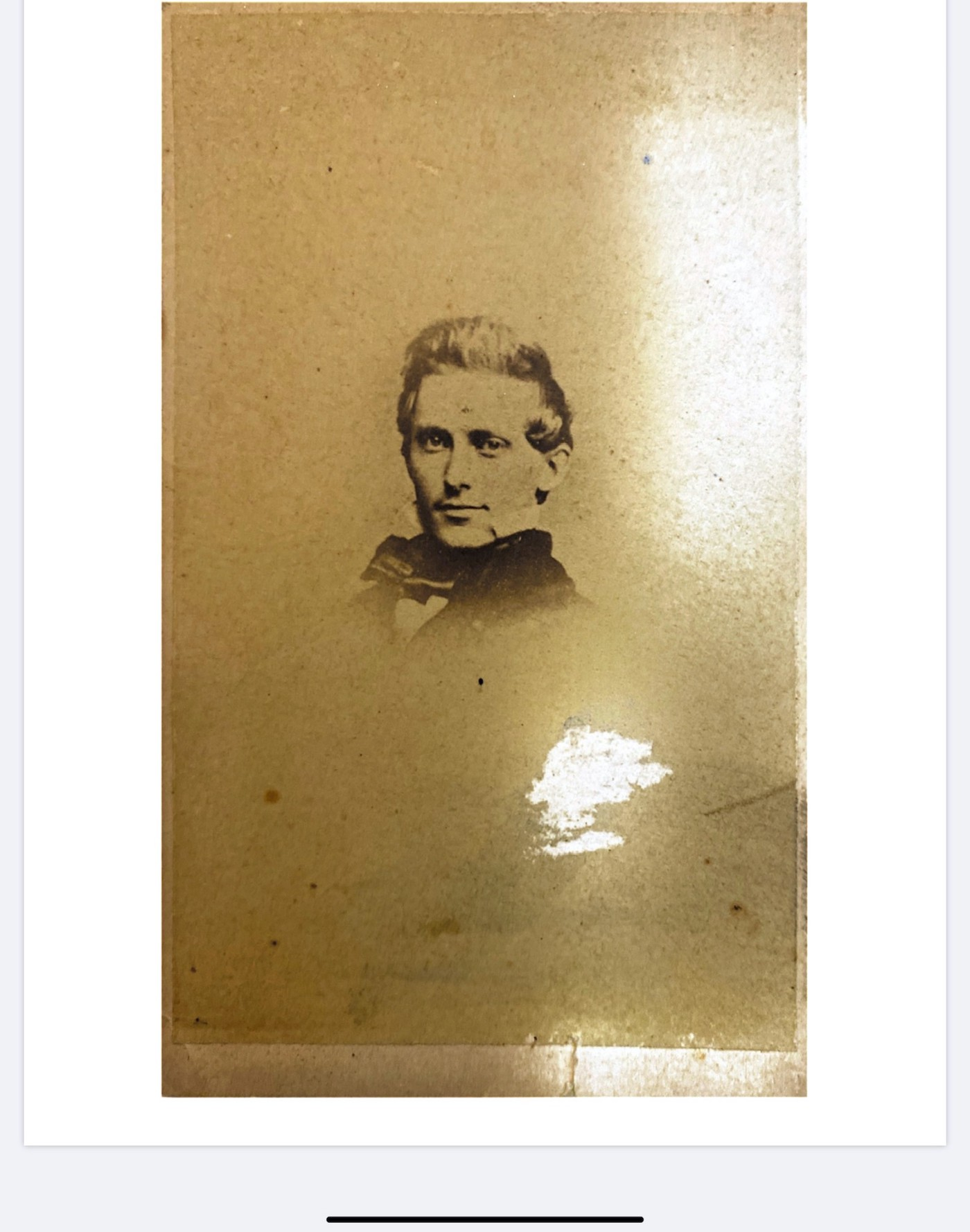 Family Photo of my paternal great-great-grandfather