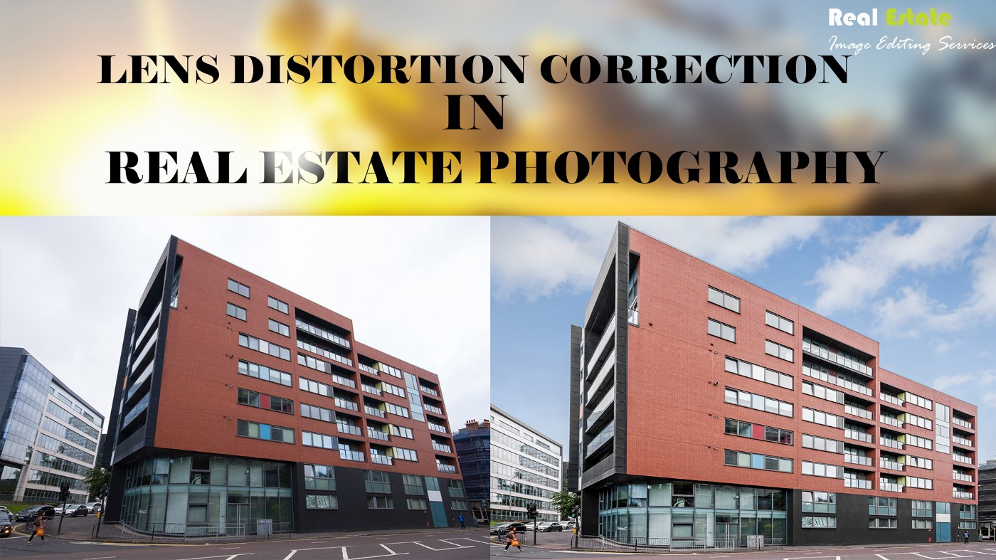 Lens Distortion Correction in Real Estate Photography