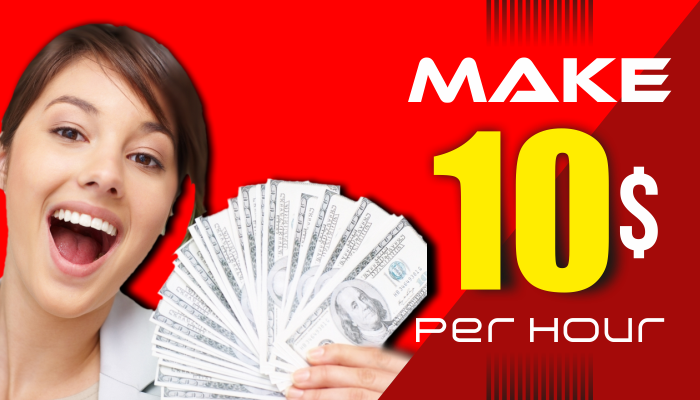 How to Make $10 Per Hour Online from Home