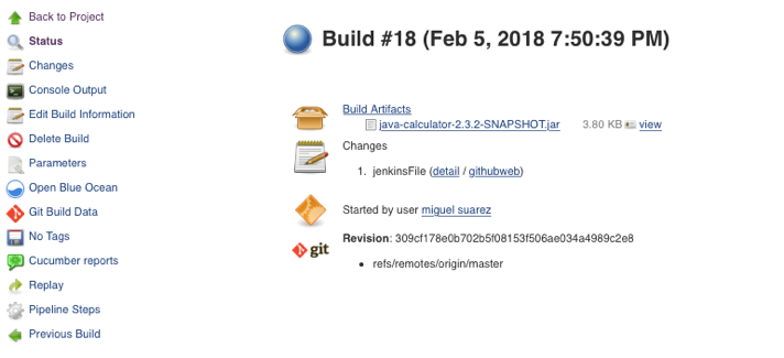 Jenkins pipelines using Cucumber and multi-branch pipelines