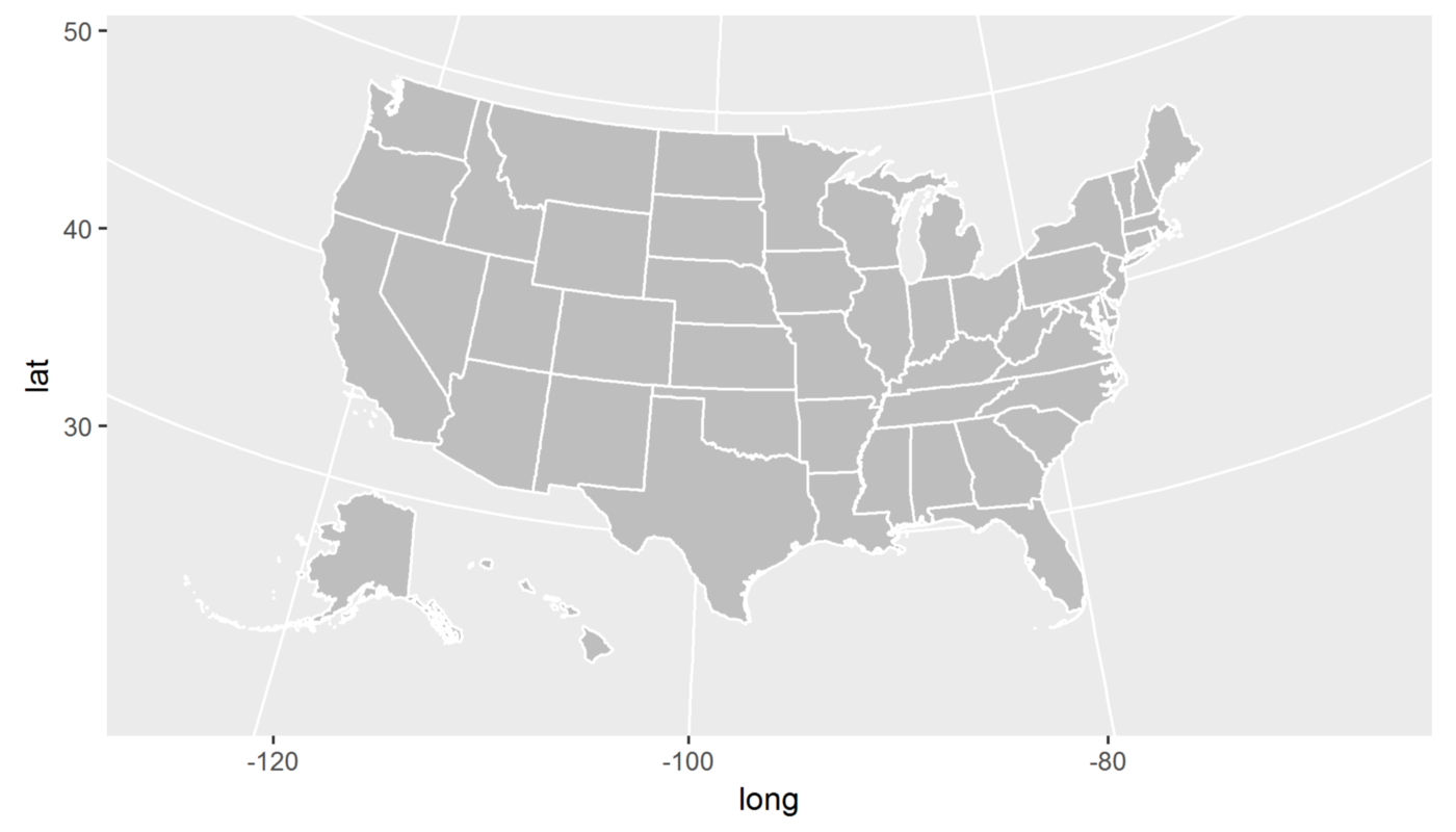 How to Create State and County Maps Easily in R - Data@Urban - Medium