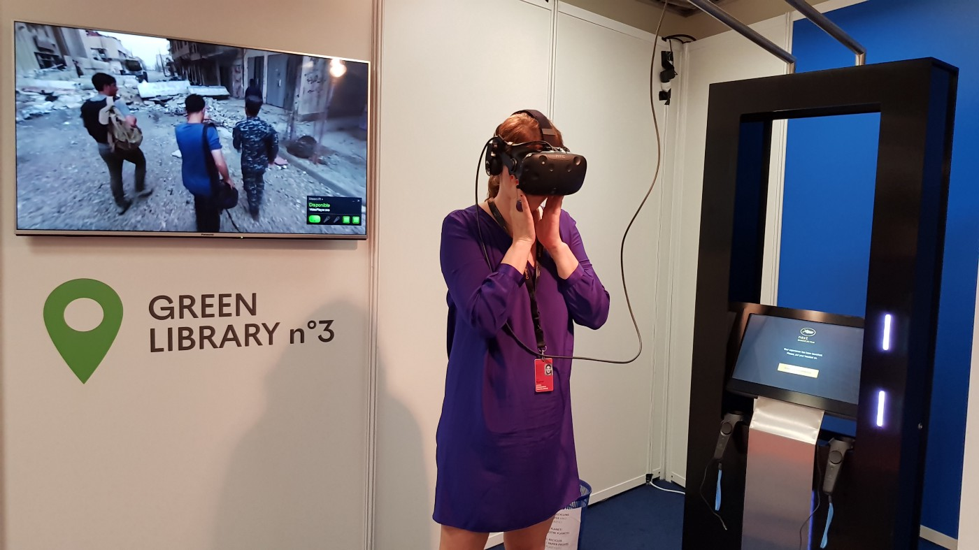 NEXT — Cinematic VR Market in Cannes - VR Film Review
