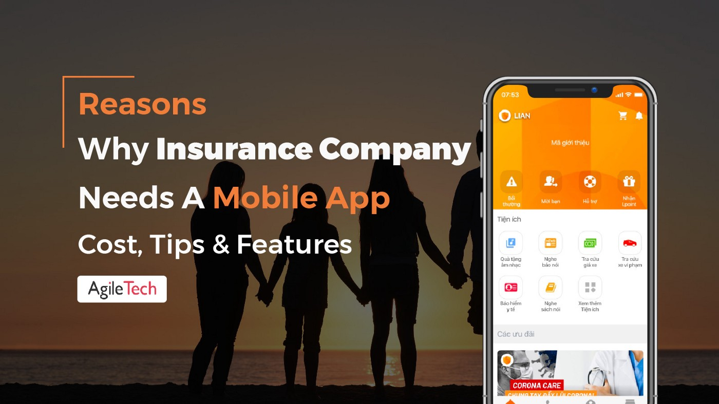 insurance app why insurance company need a mobile app cost tips features