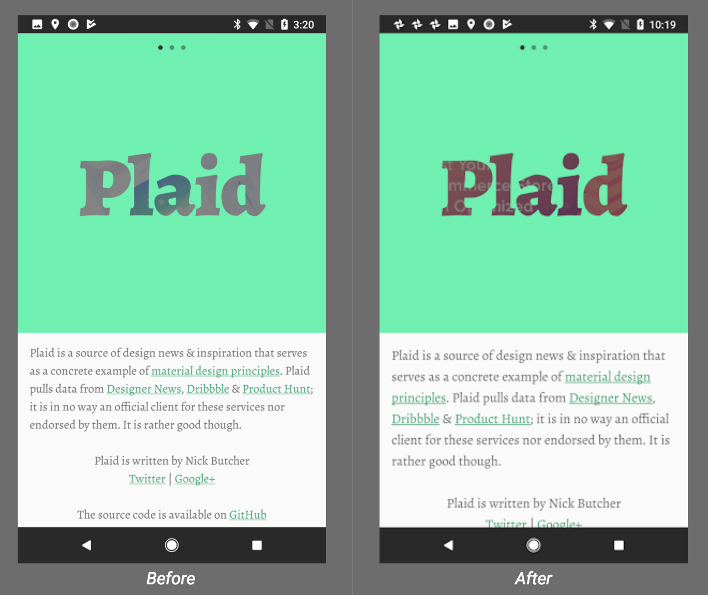 The Android Developer's Guide to Better Typography - Google Design