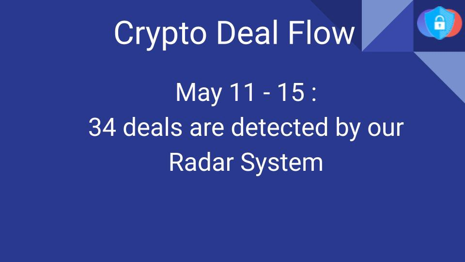 Crypto Deal Flow: May 11–15