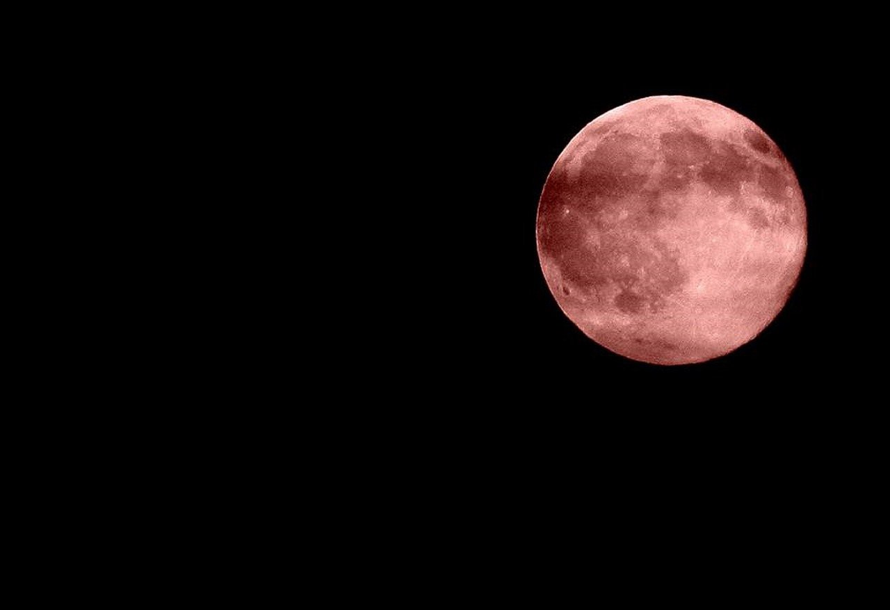 The Moon is rusting and turning Red, it's likely Earth's fault