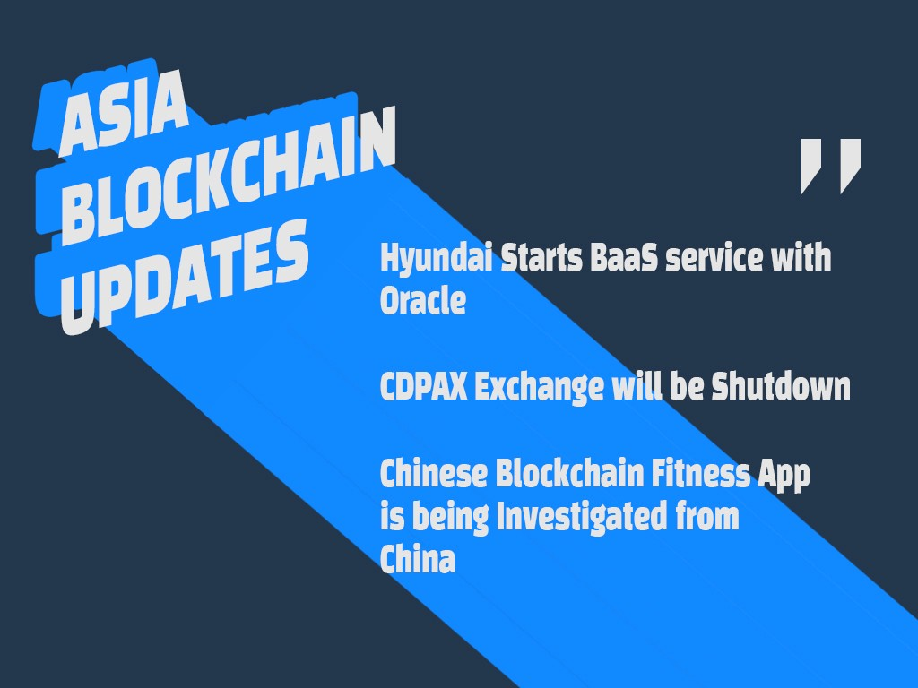Asia Blockchain Updates 2019.12.20 by Amy Kang