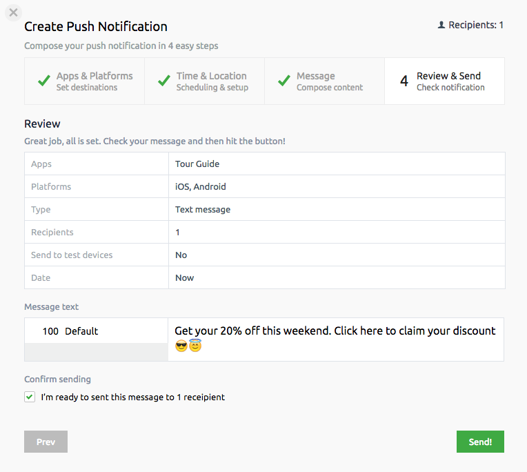 How we redesigned our new push notifications user interface