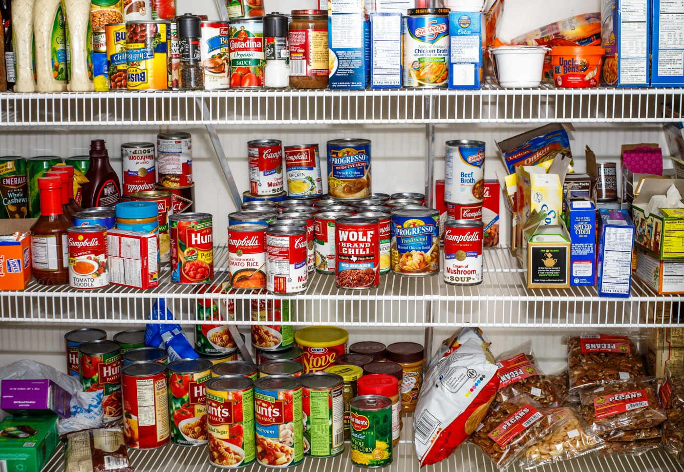 Stock Image of a Pantry by Darryl Brooks