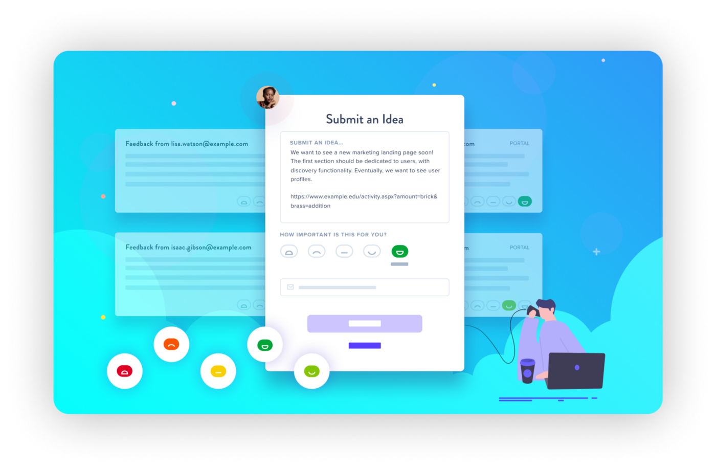 Your public roadmap will allow your product management team to more efficiently collect and analyze user feedback