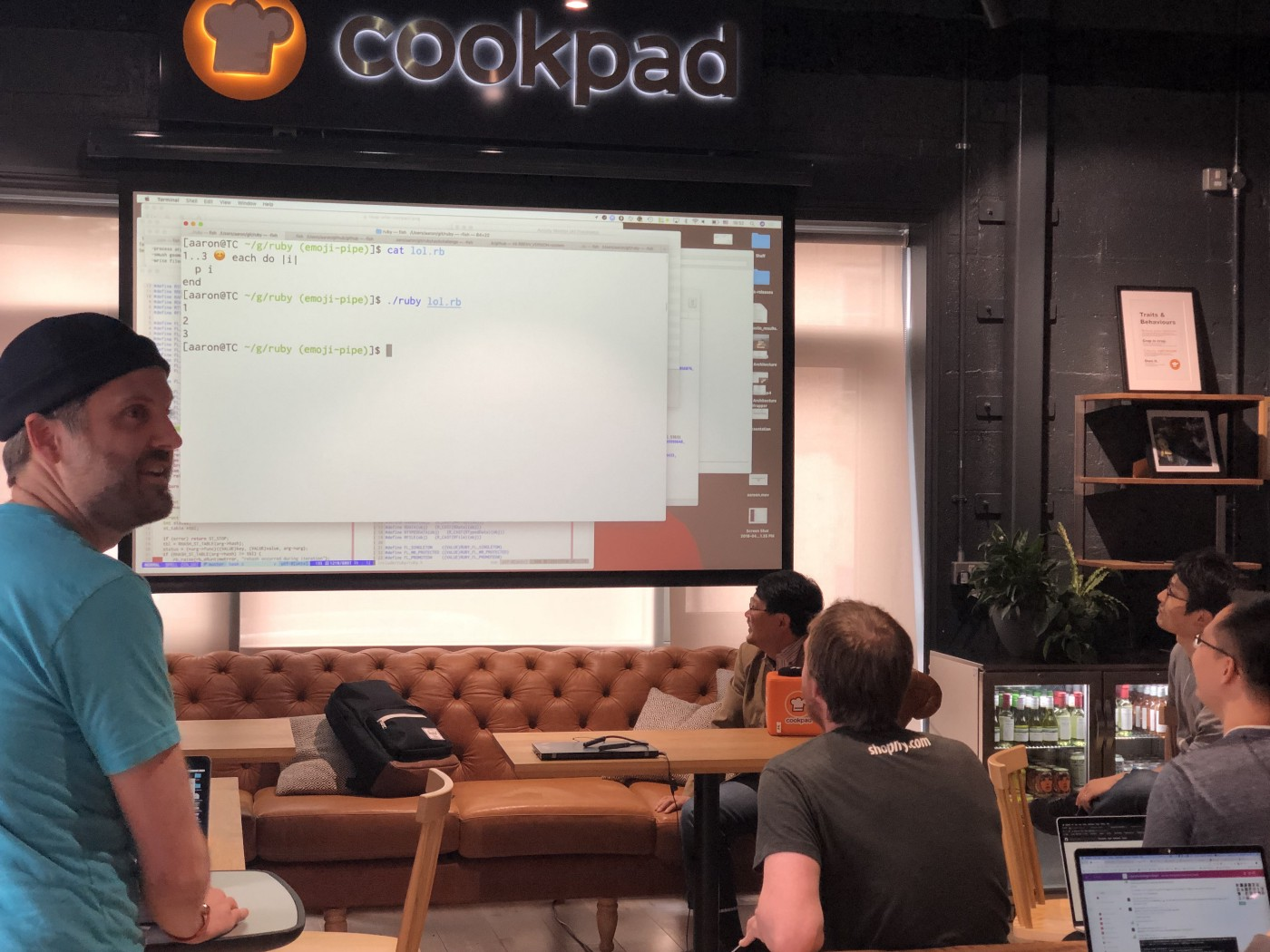 Hacking Ruby with Matz, Koichi, Aaron and Mame - Source Diving