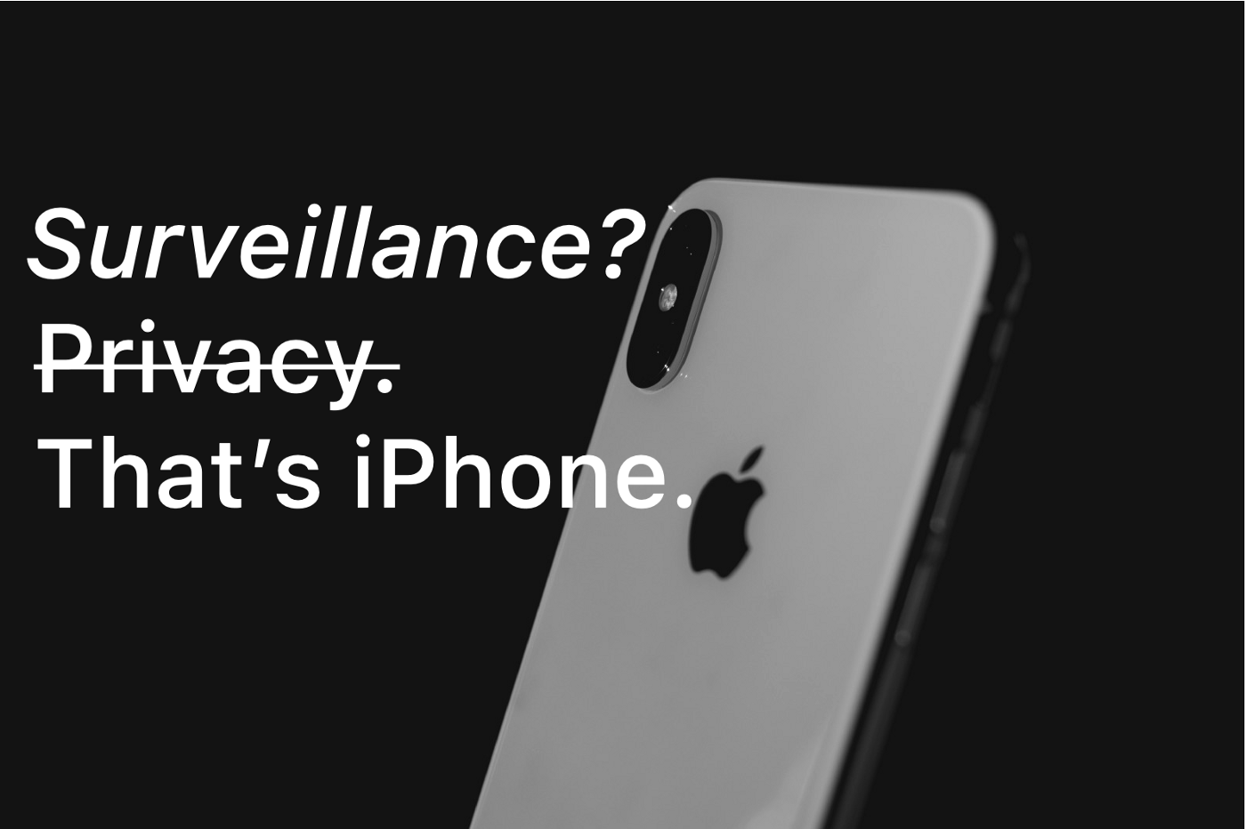 Privacy. That's iPhone. Surveillance. CSAM detection. Scanning iMessage nudes