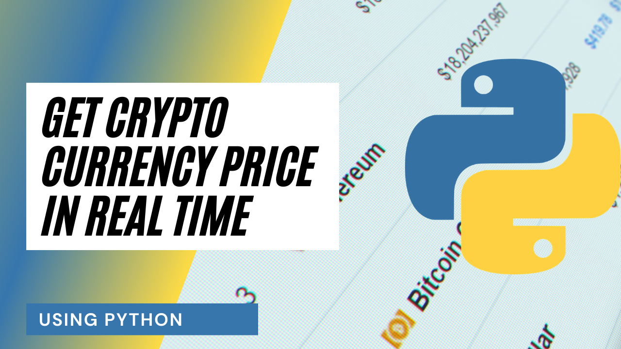 List of cryptocurrencies and Python logo