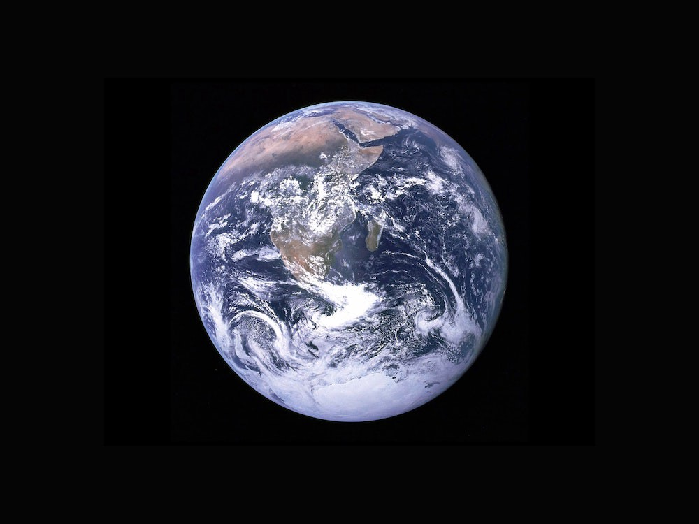 An image of planet earth from NASA