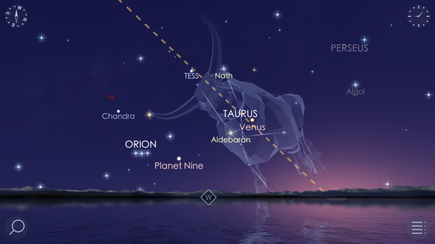 Royal Planets Rule the Evening Sky, the Waning Moon meets Mars, See