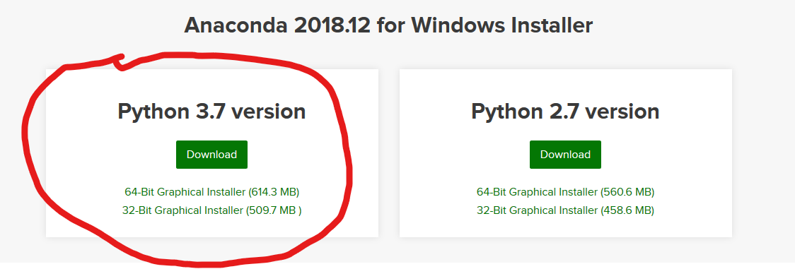 Installing a Python Based Machine Learning Environment in Windows 10