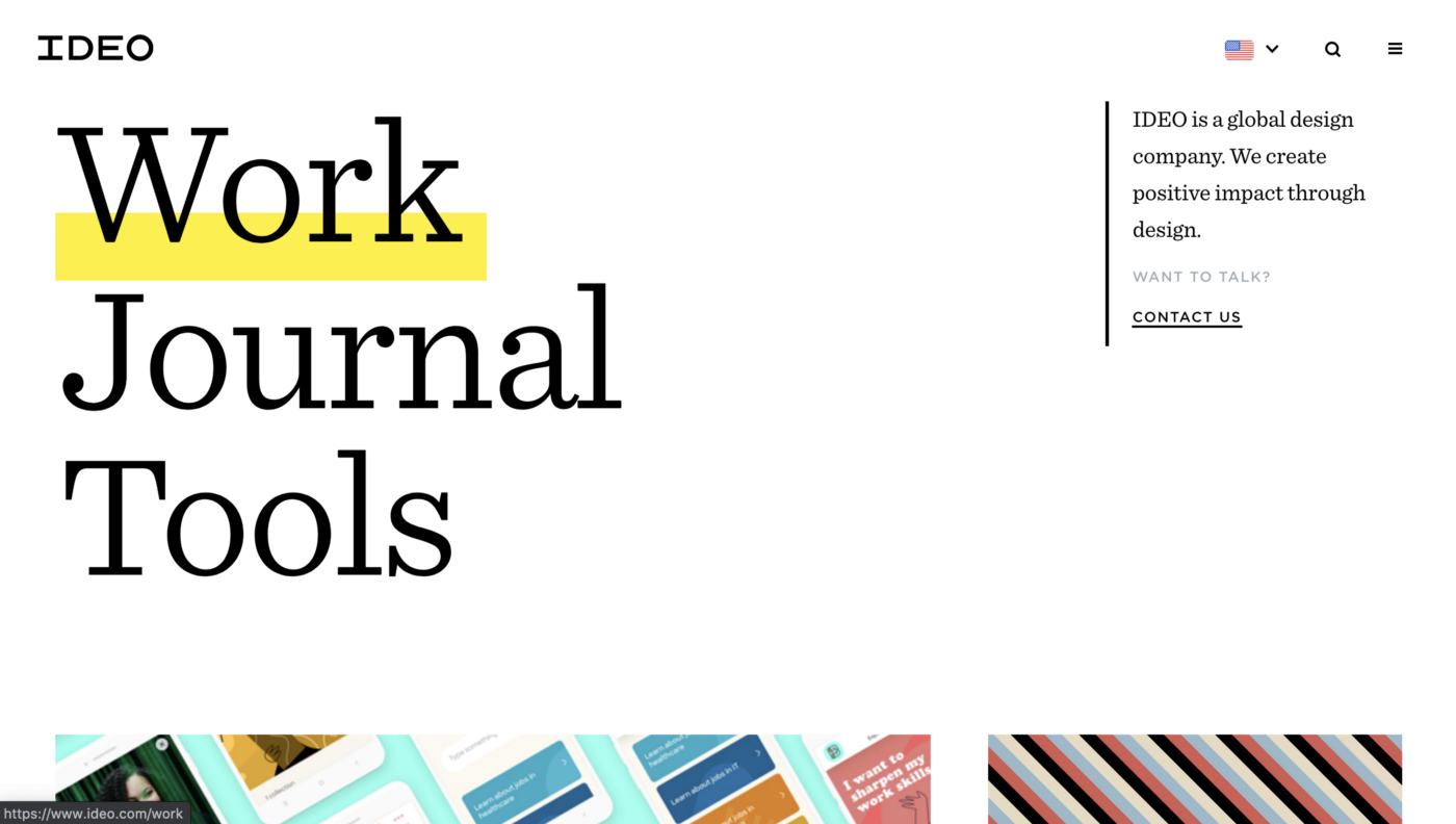 IDEO—digital design and UX firm in SF