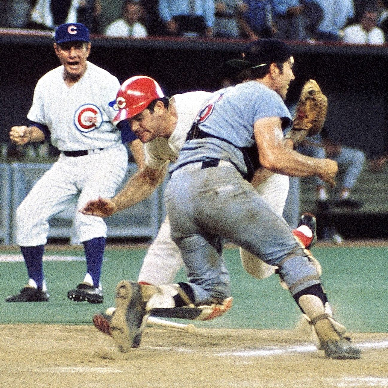 50 years ago tonight: Pete Rose blew up Ray Fosse to win the All-Star Game  | by Sal Maiorana | Top Level Sports | Medium