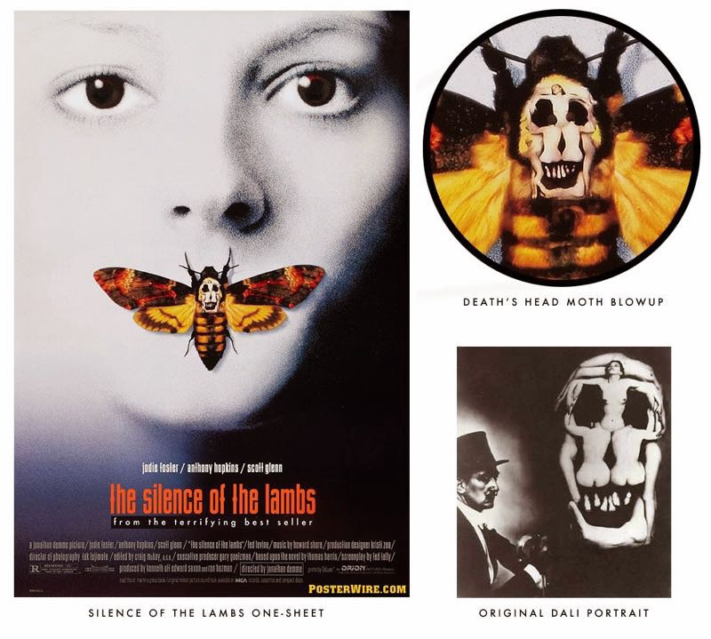 Death's Head in cinema and arts