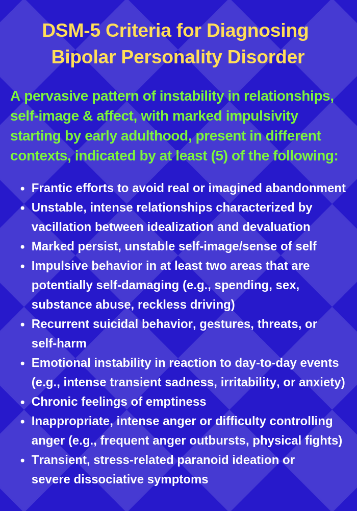 Common Misconceptions About Borderline Personality Disorder