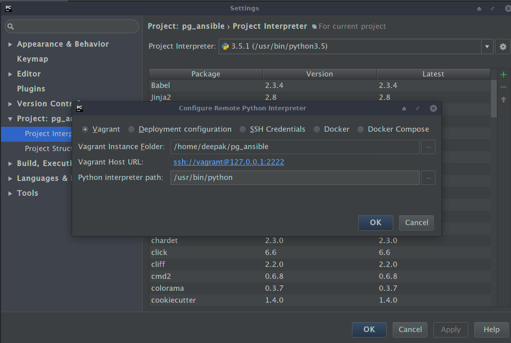 Debugging Custom Ansible Modules with PyCharm - Deepak Kothandan