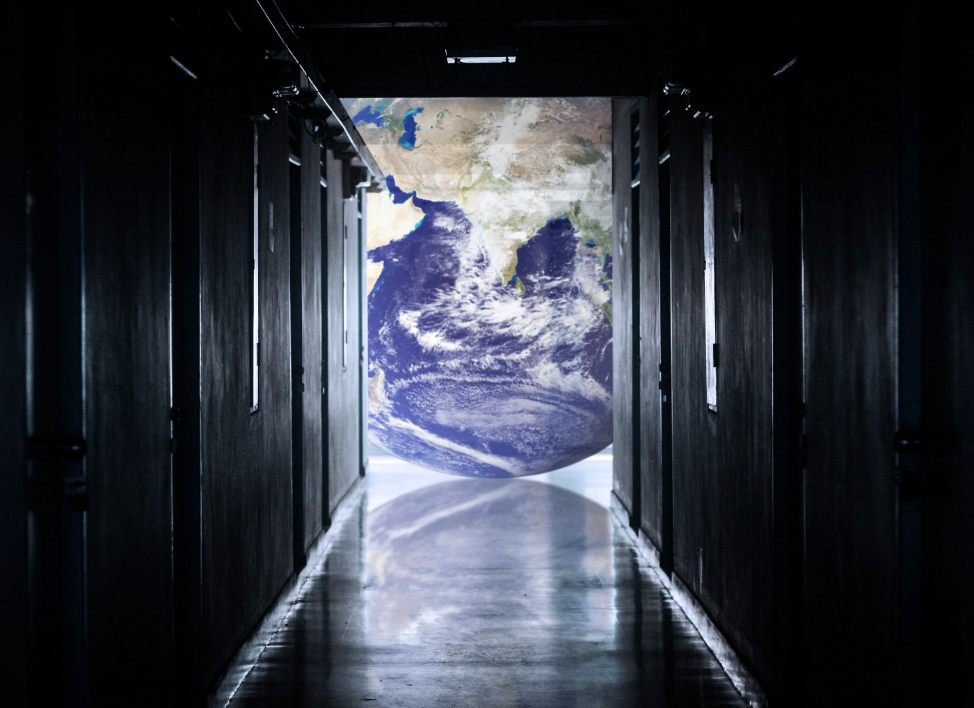 World at the end of a corridor