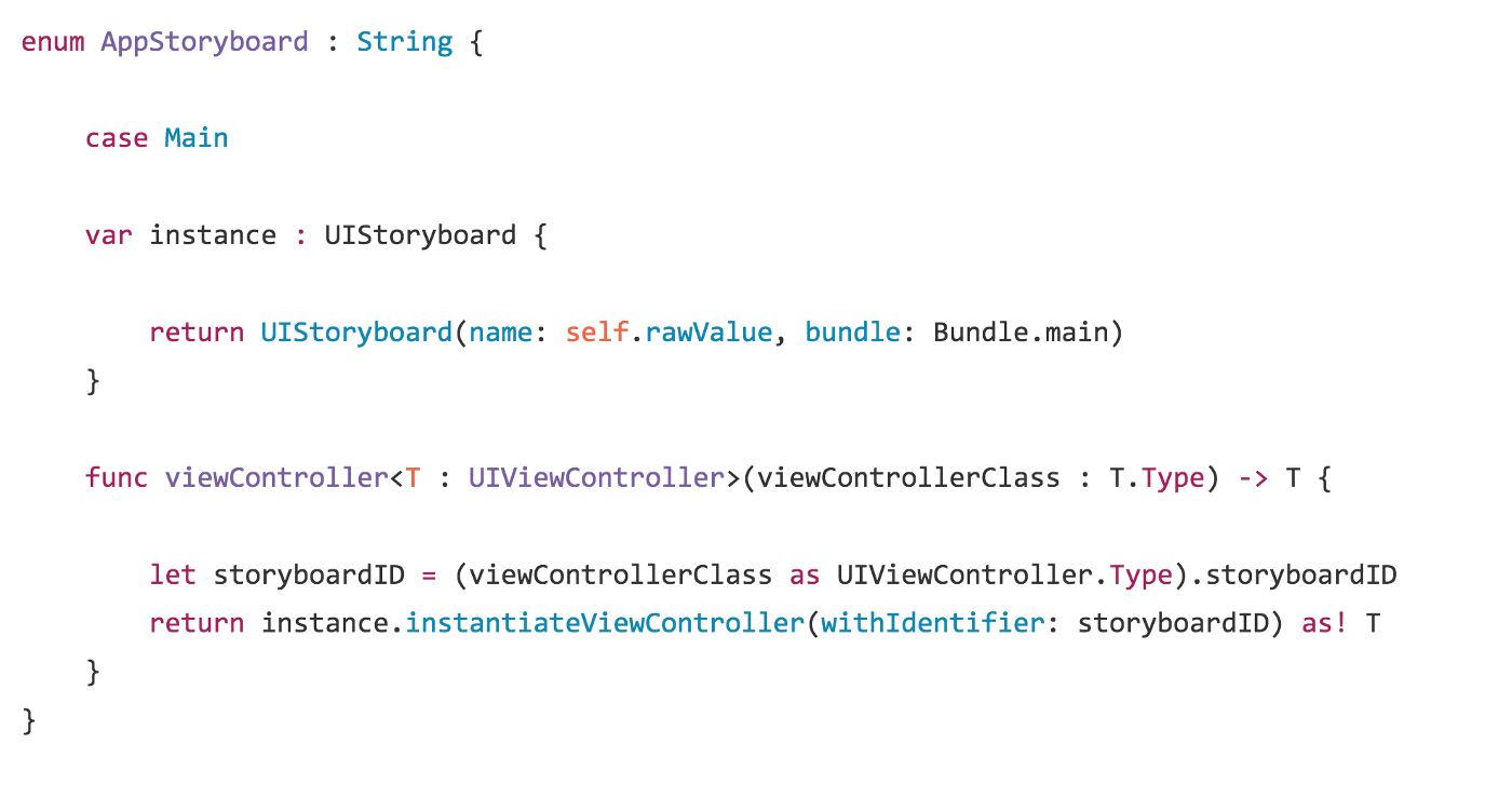 Clean Code for Multiple Storyboards - Gurdeep Singh - Medium