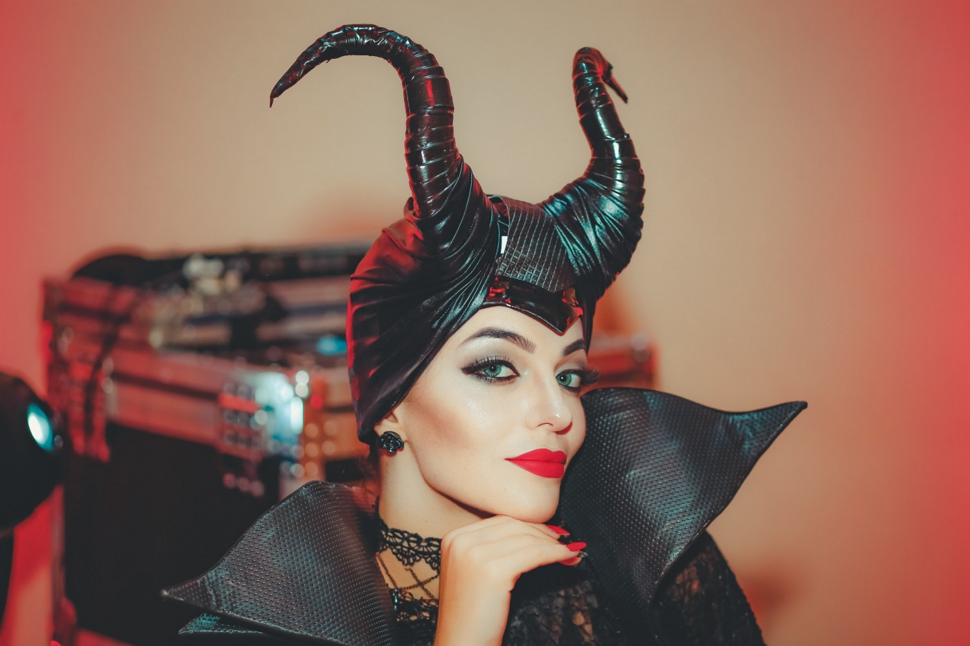 Maleficent is a popular costume for cosplayers and Halloween