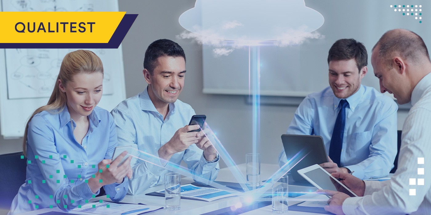Quality engineers conducting functional testing for cloud applications