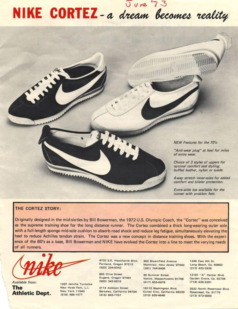dc96349c8 First Cortez Prototype by Bowerman, Athlete name-Kenny Moore-Nike.com