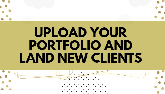 4 website writers can upload their samples and portfolio to land new clients without pitching