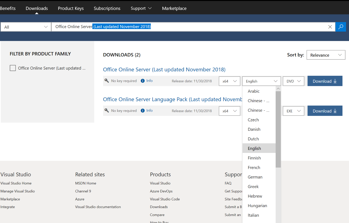 Installing & configuring Office Online Server with Exchange 2016 / 2019