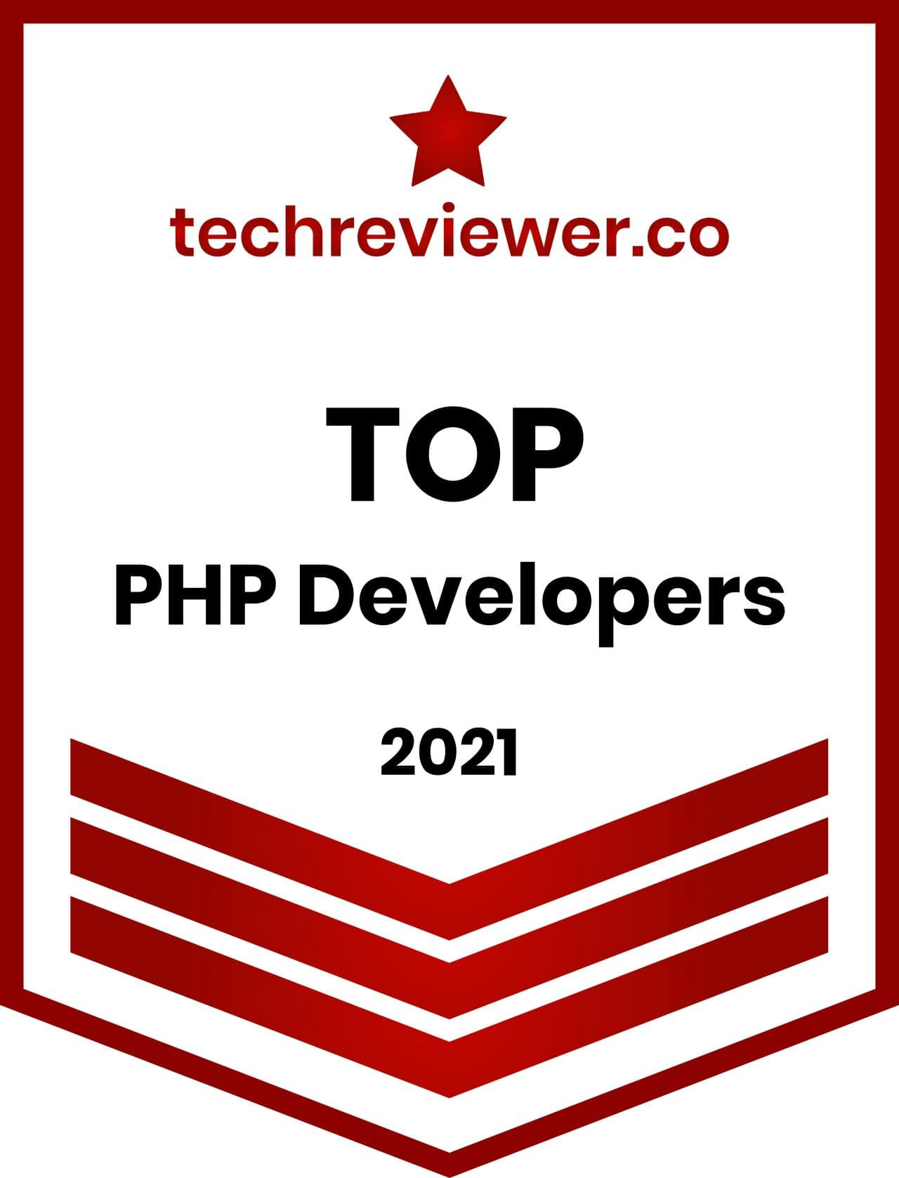 CodeRiders provides PHP development services and is appreciated by TechReviewer