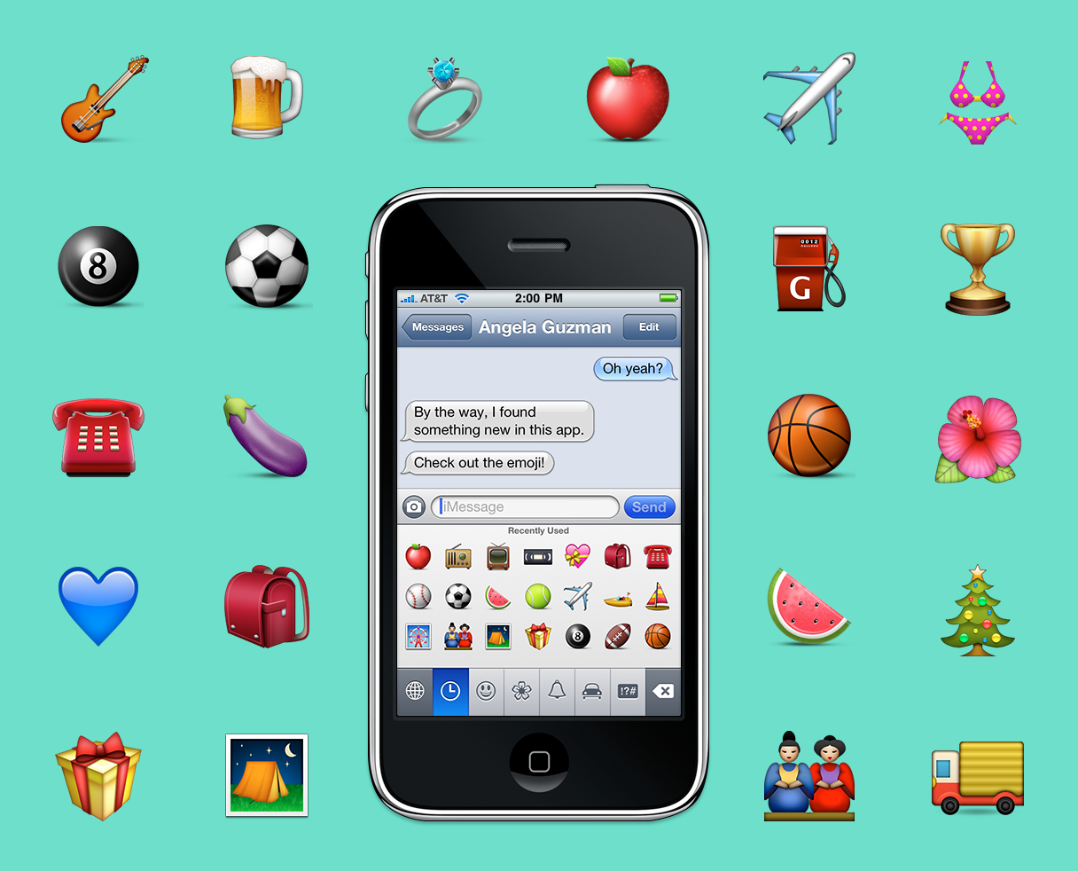 The Making of Apple's Emoji: How designing these tiny icons changed