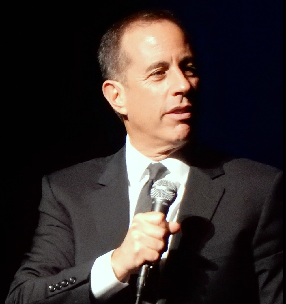 Photo of comendian Jerry Seinfeld